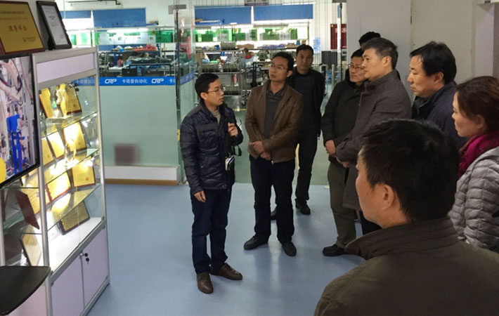 Provincial Party Committee leaders come to CRP Robotics inspection and investigation